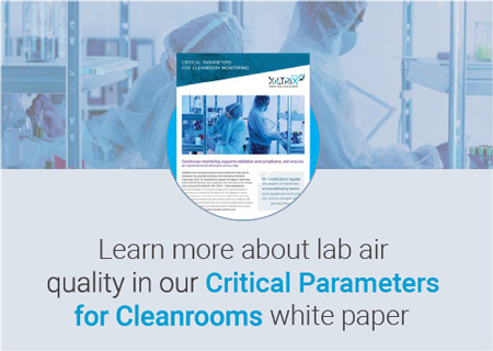 cleanroom monitoring white paper